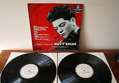Ducretet Thomson  TEST PRESSING   DEVY ERLIH Violin Recital Mega Rare LP