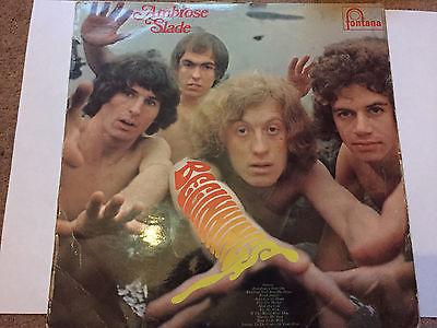 SLADE AMBROSE SLADE BEGINNINGS ORIGINAL 1969 FONTANA LP RELEASE