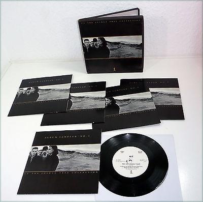 U2   UK 1987 ALBUM SAMPLER Joshua Tree PROMO ONLY 5x 7  45 BOX Set 80s