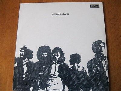 SOMEONES BAND  SAME  UK DERAM 1970 ORIGINAL BLUES ROCK LP VERY RARE EX NM