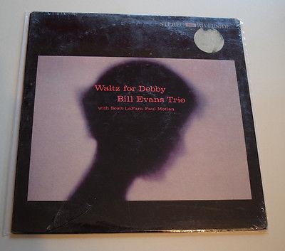 Bill Evans Waltz for Debby FACTORY SEALED ORIGINAL   RARE   Riverside lp 9399