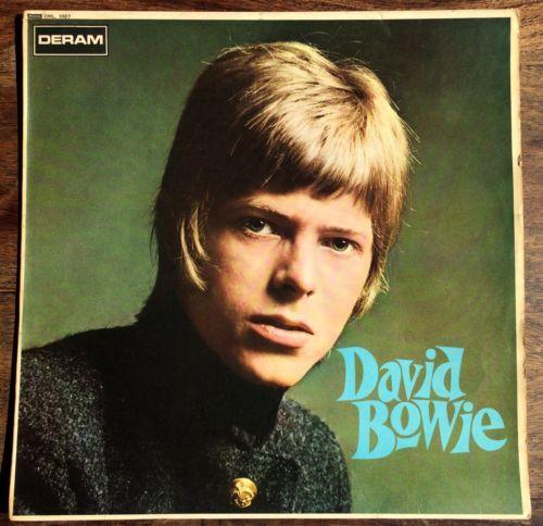 DAVID BOWIE David Bowie UK 1st press mono vinyl LP Deram DML 1007 1967