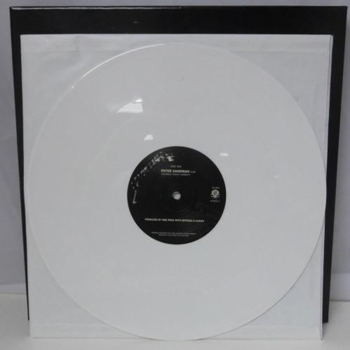 METALLICA Black Album 2010 WHITE VINYL 4 LP Box Set Ltd Edition of 100 UNPLAYED