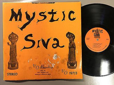 ORIGINAL 1ST PRESS  Mystic Siva VO Detroit label LP 19713 holy grail funk pysche