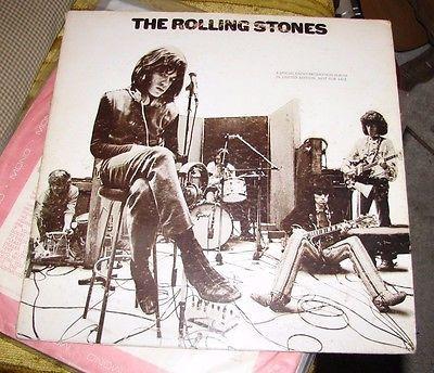 Rolling Stones Rare UK Decca Promotional LP RSM 1 Promo Demo Mono