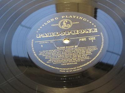 THE BEATLES  PLEASE PLEASE ME ORIG 1963  UK LP GOLD PARLOPHONE  1G  1G STAMPERS