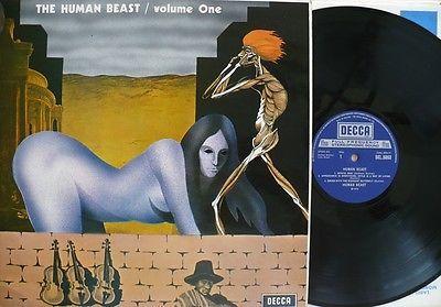 The Human Beast   Volume One LP Vinyl Decca