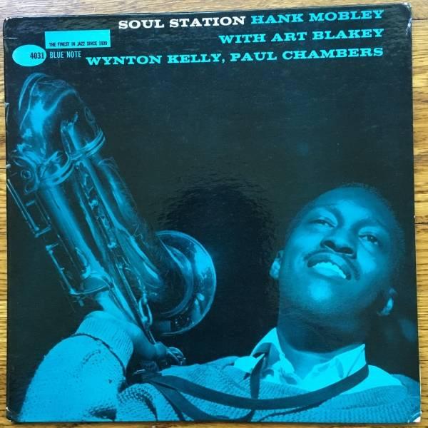 HANK MOBLEY SOUL STATION BLUE NOTE Original LP 4031 DG EAR P