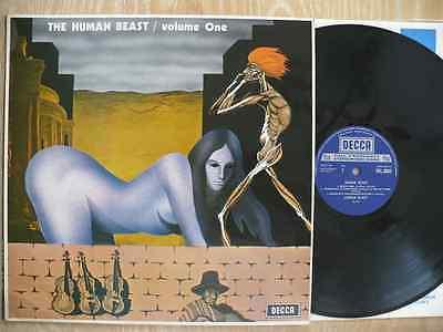 THE HUMAN BEAST   VOLUME ONE   RARE UK ORIGINAL VINYL LP   Decca         SKL 5053