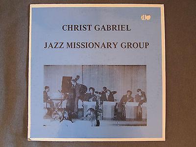 Christ Gabriel Jazz Missionary Group   Spiritual Jazz Soul Holy Grail LP