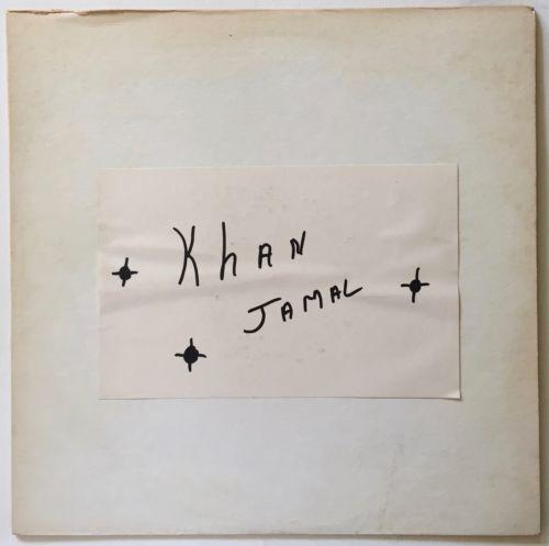 Khan Jamal  Drum Dance To The Motherland  Rare Private Free Jazz LP Dogtown NM
