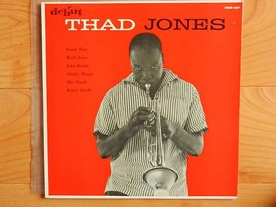 THAD JONES CHARLES MINGUS MAX ROACH DEBUT LP ORG 1956 RARER THAN BLUE NOTE