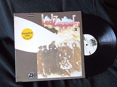 LP    Led Zeppelin II     PROMO     RL