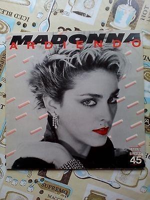MADONNA   ARDIENDO  ULTRA RARE MAXI 12  SPANISH PRESS VINILO 1983