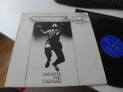 BIGLIETTO PER L INFERNO  Original Italy 1974 Prog LP  Superb Copy