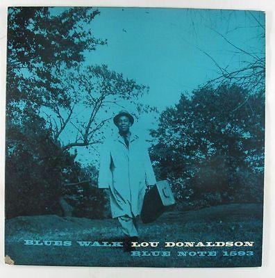 Lou Donaldson   Blues Walk LP   Blue Note   BLP 1593 Mono DG RVG 47 W 63rd VG