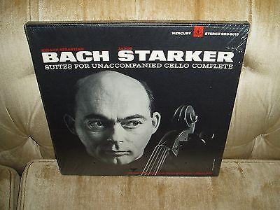 JANOS STARKER Lp Bach Suites Cello Solo Original Mercury SR39016  SEALED  MINT