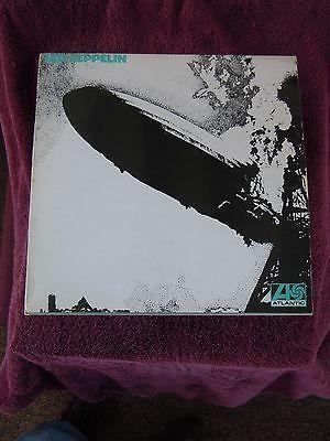 Led Zeppelin 1st LP UK Turquoise Very 1st Pressing Uncorrected Matrix Superhype