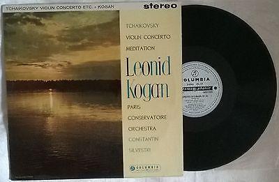 Leonid Kogan   Tchaikovsky Violin Concerto LP Columbia SAXO 2323  Australia  SAX