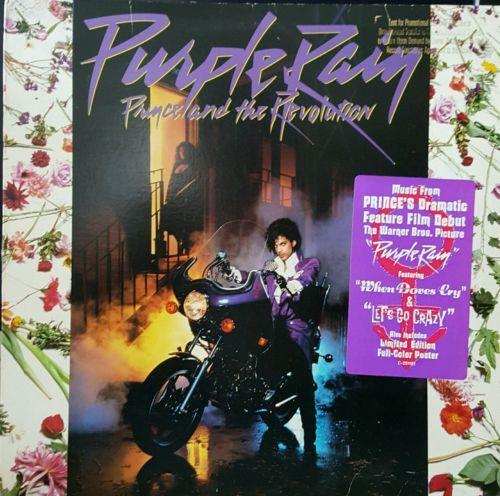 PRINCE Purple Rain purple vinyl lp