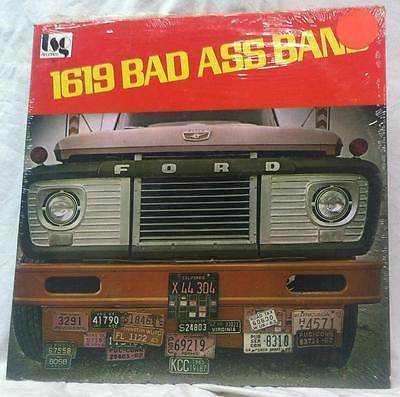 1619 Bad Ass Band LP SEALED 1976 Original Press Soul Funk OG Rare OOP Ford Truck