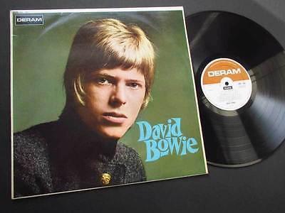 DAVID BOWIE   S T   ORIG UK 1ST MONO PRESS 1967 DERAM DEBUT LP MONSTER RARE VG
