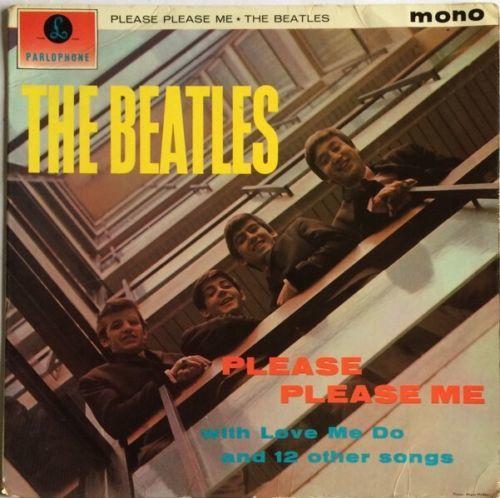 THE BEATLES PLEASE PLEASE ME LP PARLOPHONE UK GOLD MONO 1963 1N 1N MATRIX