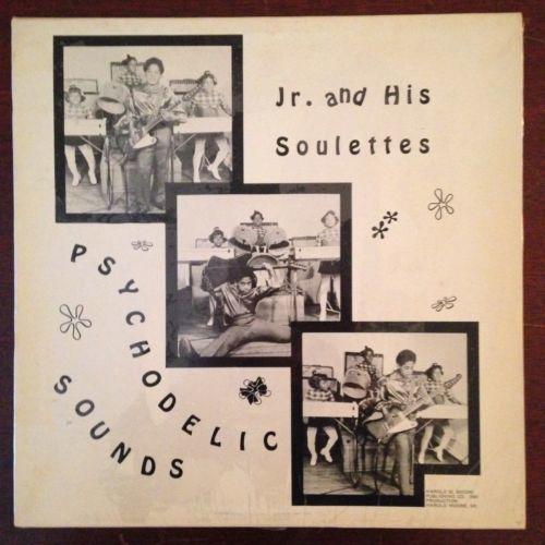 VERY RARE ORIGINAL PRIVATE FUNK JR   HIS SOULETTES Psychodelic Sounds LP NM