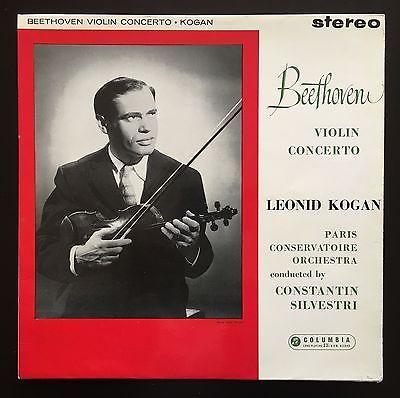 SAX 2386 LEONID KOGAN Beethoven Violin Conc in D op 61 T s Ed 1 LP