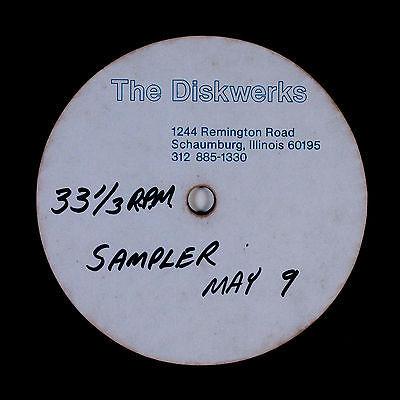 Modern Soul Funk Disco LP Unknown   Acetate  Chicago rarity  Unreleased NM HEAR