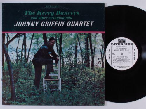 JOHNNY GRIFFIN QUARTET The Kerry Dancers   Swinging Folk RIVERSIDE LP NM wlp