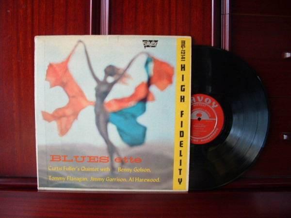 CURTIS FULLER Blues Ette VG   MG12141 Original Red DG RVG Savoy Jazz LP