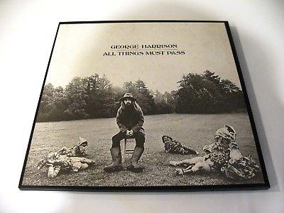 George Harrison 3LP  ALL THINGS MUST PASS  1970 Original   NM