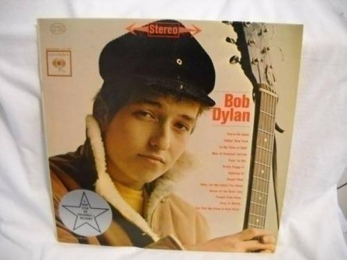 Bob Dylan 1962 Album LP 6 Eye Record Columbia CL1779  1st  release demo