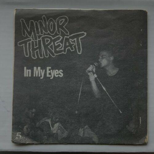 MINOR THREAT   In My Eyes 7    EP 3rd Press w  Insert Punk Hardcore