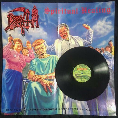 DEATH Spiritual Healing 1990 Promo LP Vinyl  Chuck Schuldiner   s Personal Copy