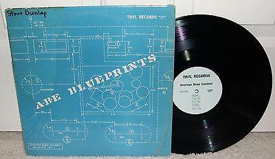 American Blues Exchange Blueprints ORIG 1969 US Private Pressing Tayl        LP Pokora