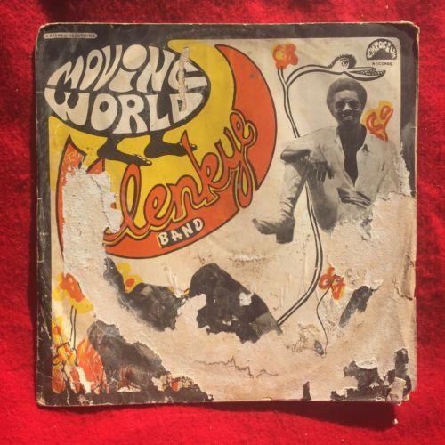 THE KELENKYE BAND Moving World rare afro FUNK PSYCH grail og ghana lp LISTEN