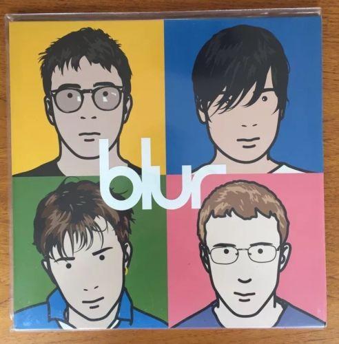 BLUR   The Best Of   Vinyl 2xLP Record Food Label 1st Pressing