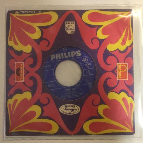David Bowie  Space Oddity LEBANESE PHILIPS Vinyl 45 NEAR MINT LISTEN