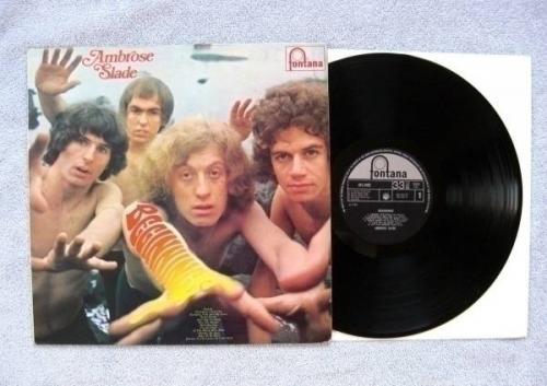 AMBROSE SLADE BEGINNINGS 1st PRESS UK FONTANA 1969 MEGA RARE PROG GLAM LP