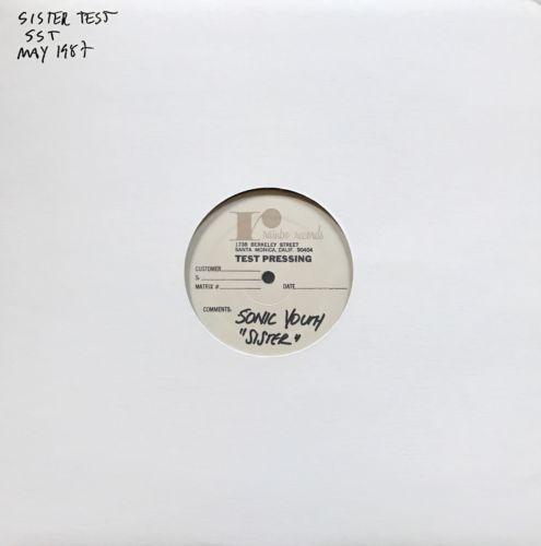 Sonic Youth   Sister LP Test Press SST Nirvana Dinosaur Jr  Punk Indie