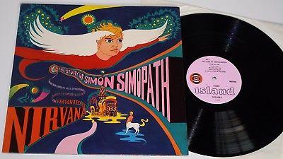 NIRVANA   LP   THE STORY OF SIMON SIMOPATH   RARE UK PSYCH   ORIGINAL 1967