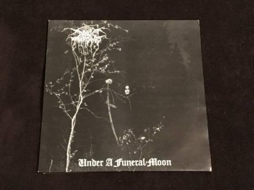 Under a Funeral Moon  Darkthrone Vinyl 1993 Peaceville Records