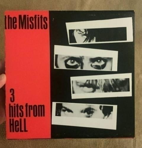 Misfits    3 Hits from Hell  ORIGINAL 7  EP 1981 VG  Plan 9 punk
