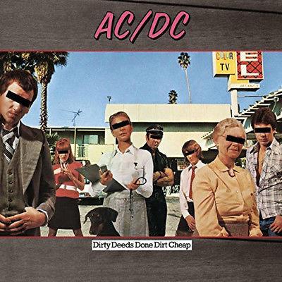 AC DC   Dirty Deeds Done Dirt Cheap  Limited Edition   New Vinyl LP  Ltd Ed  180