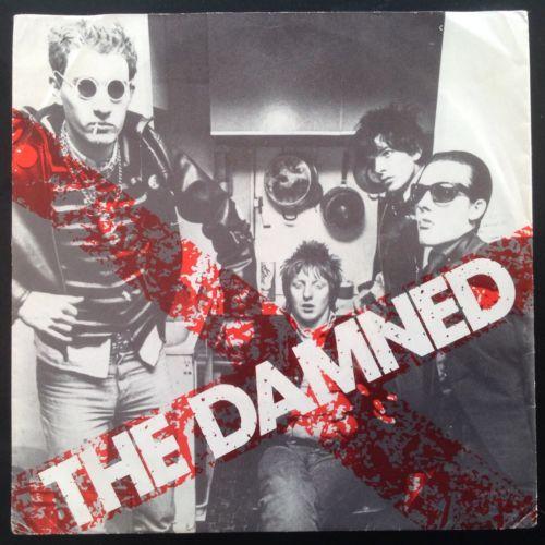 The Damned New Rose Rare Orig Dutch 7  Diff PS Punk Clash Ramones Sex Pistols