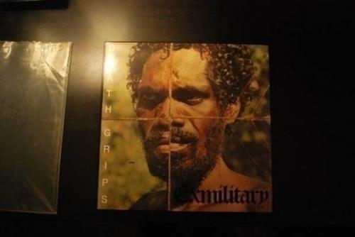 Death Grips   Exmilitary vinyl original pressing ex military LP 2011 electronic