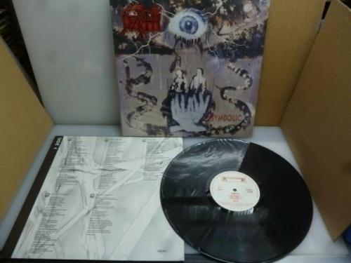 Death   Symbolic Vinyl LP  UNIQUE     Netherland Roadrunner 1995  NM  VG