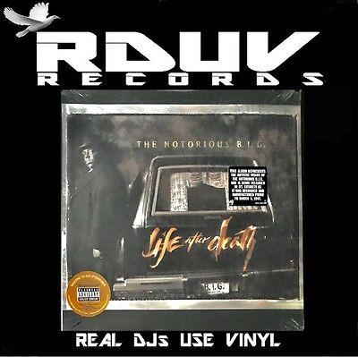 NOTORIOUS B I G    LIFE AFTER DEATH   3 LP VINYL 12  ALBUM   US ORG  97   Big